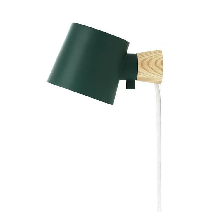 Rise Wall Light L17 x D10 x H9.7cm Petrol Green
