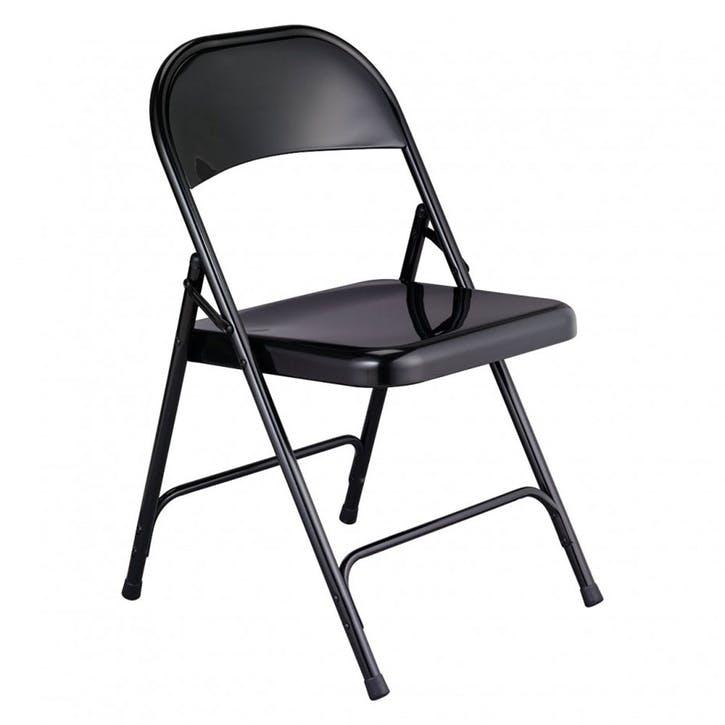 Macadam Folding Chair, Black