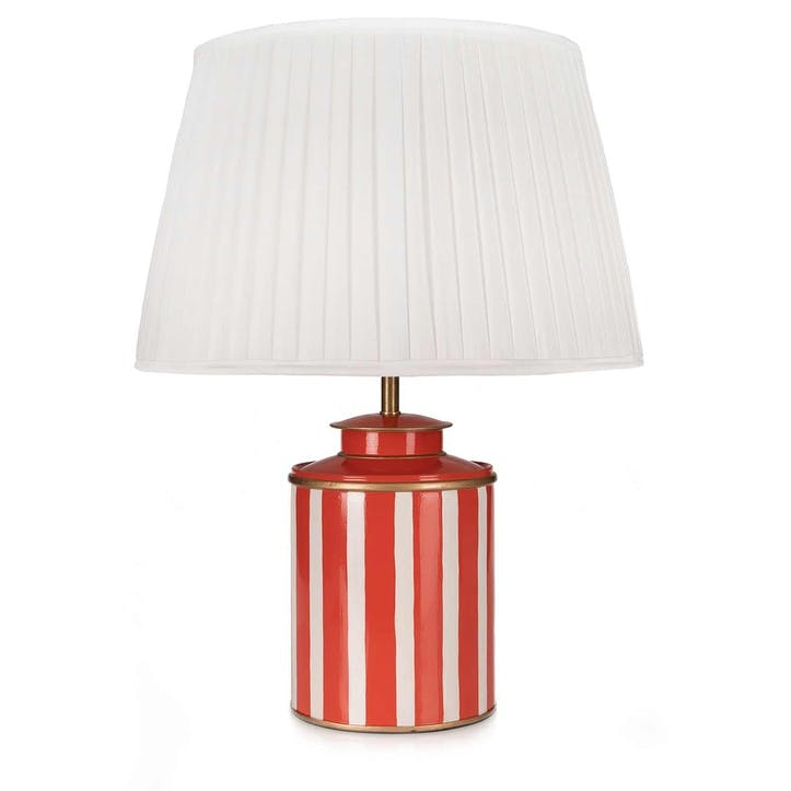 Halo Table Lamp and Silk Shade