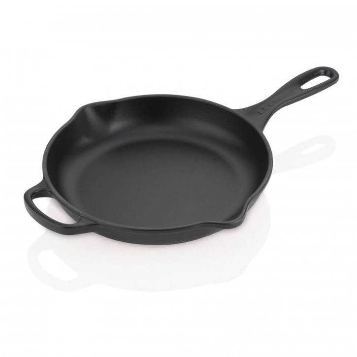 Cast Iron Skillet - 23cm; Satin Black