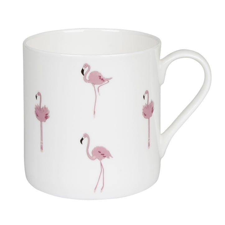 'Flamingos' Mug - Large