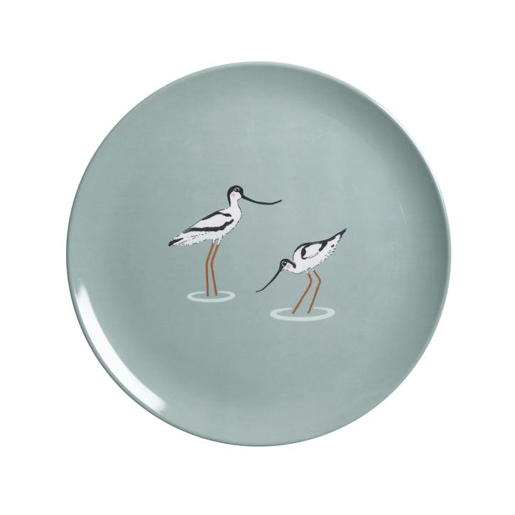 'Coastal Birds' Melamine Side Plate