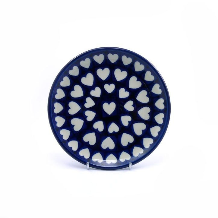 Hearts Side Plate, 16cm