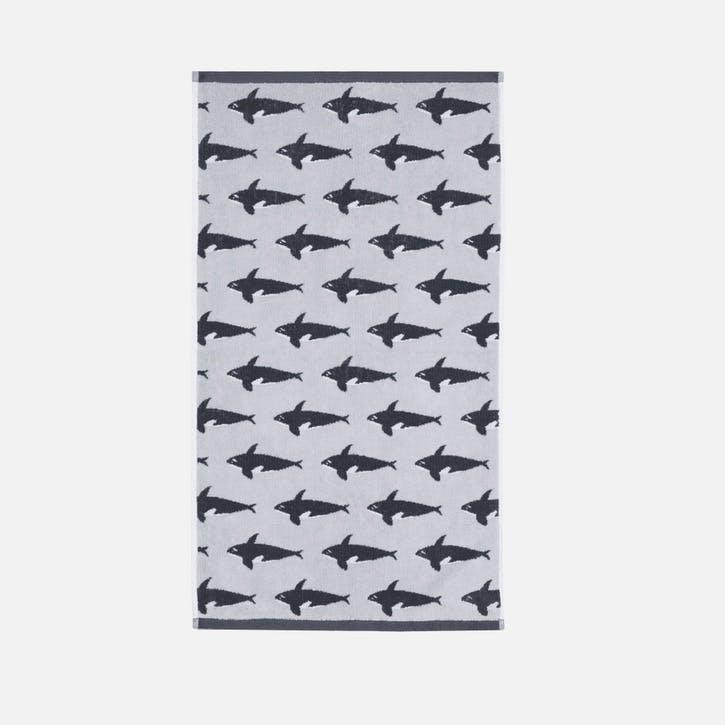 Orca Hand Towel