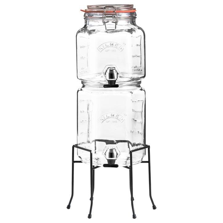 Stackable Drinks Despenser Set
