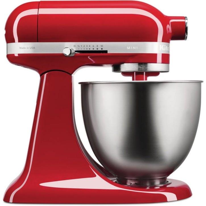 Mini Stand Mixer; Empire Red