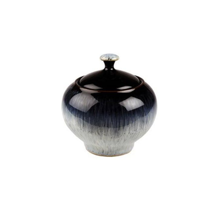 Halo Covered Sugar Bowl, 300g, Black/ Blue