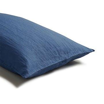 Pair of Standard Pillowcases Blueberry
