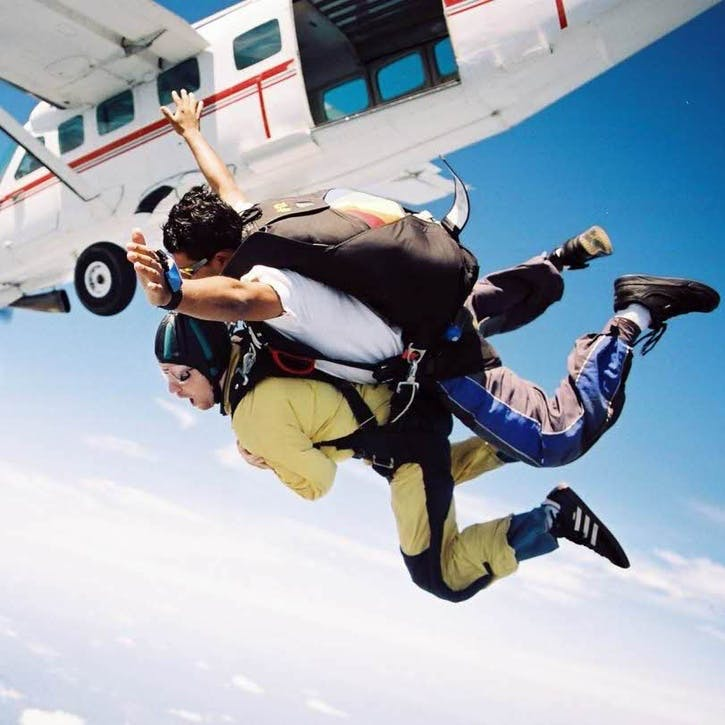 Honeymoon Skydiving Experience £100
