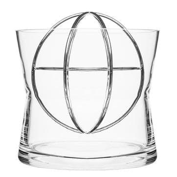 Sphere Vase Large, Stainless Steel