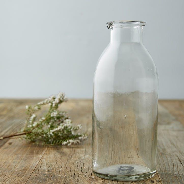 Modern Rustic Tall Glass Jug/Carafe
