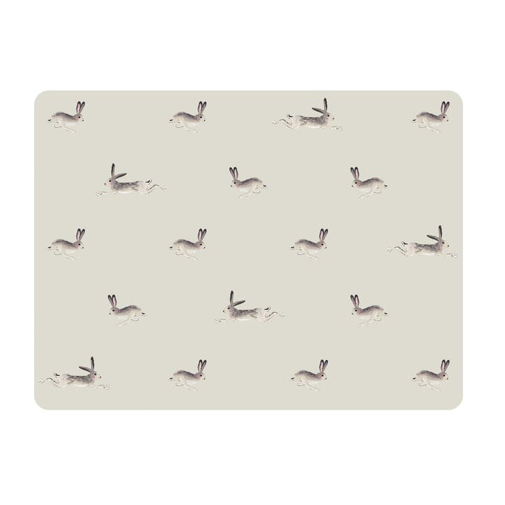 'Hare' Placemats, Set Of 4