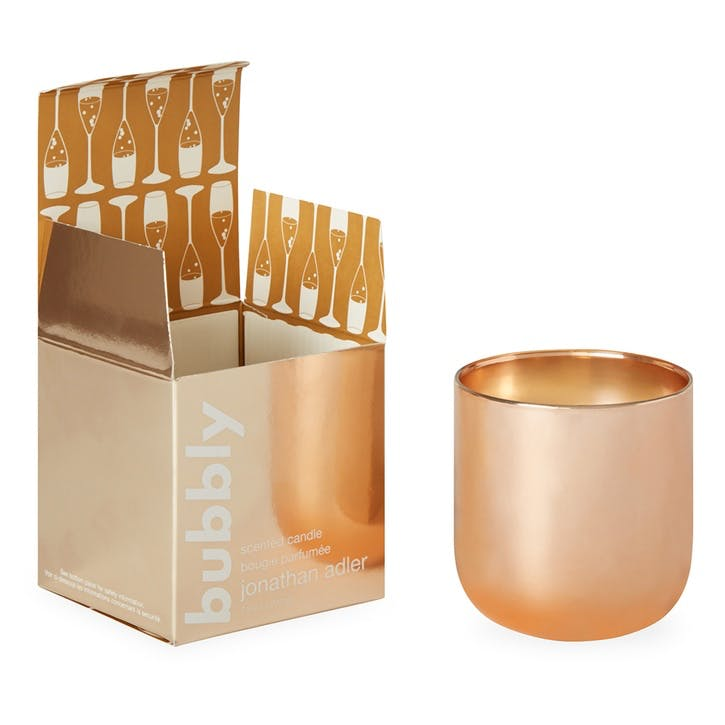 Rose Gold Bubbly Candle
