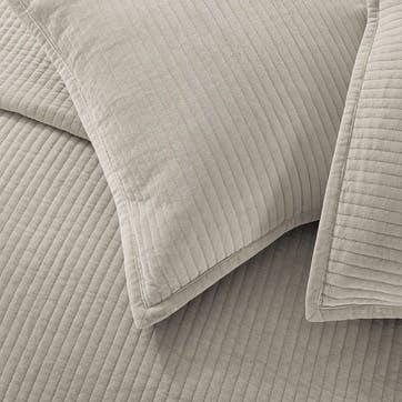 Amara, Medium Square Cushion, Putty