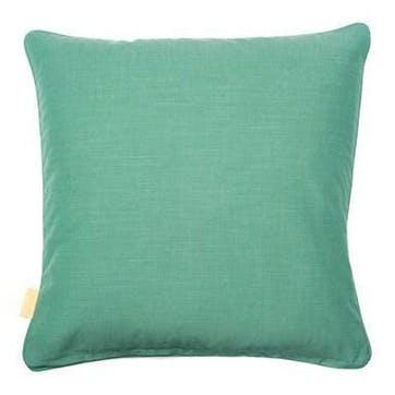 Grey Stucco Pebbles, Square Velvet Cushion