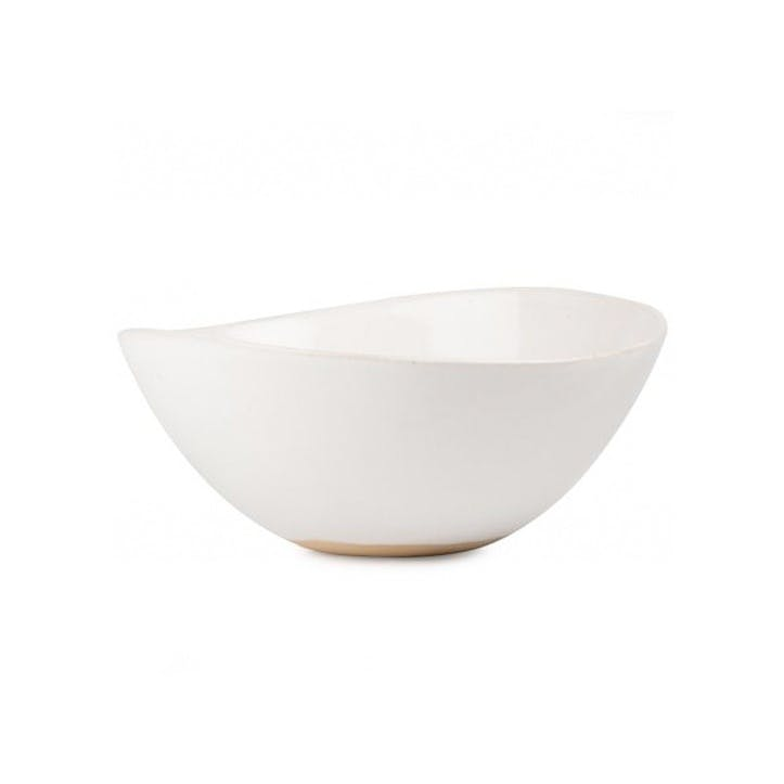Mervyn Gers White Medium Bowl, 22cm