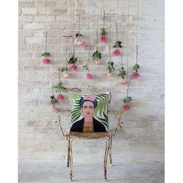 Tropical Frida Kahlo Cushion, 46 x 46cm, Multi