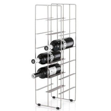 Wine Rack, Matt Silver