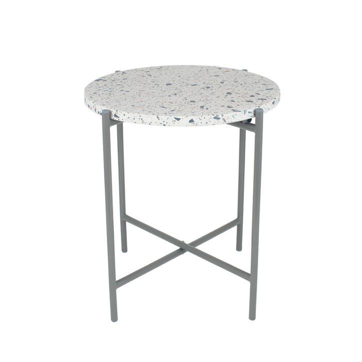 Borgen Side Table, Large, Grey