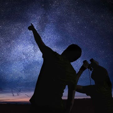 Stargazing for Two at The Breath-Taking High Force Waterfall
