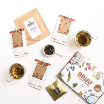 The Gourmet Tea Club, 6 Month Subscription