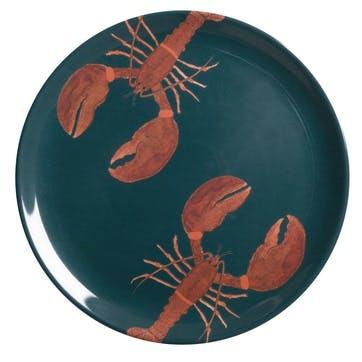 'Lobster' Melamine Dinner Plate
