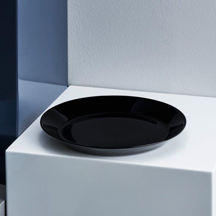Teema Plate, Black, 21cm