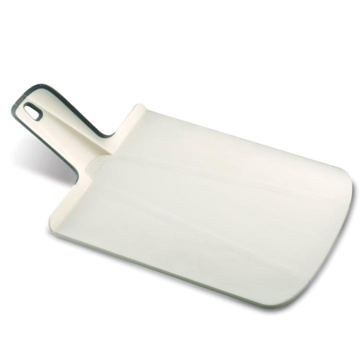 Chop2Pot Folding Chopping Board - Small; White