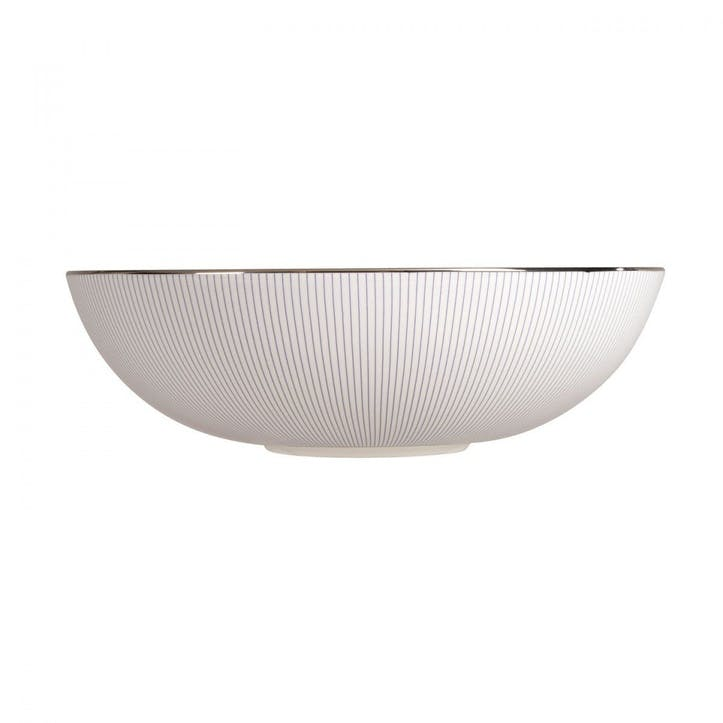 Pin Stripe Serving Bowl