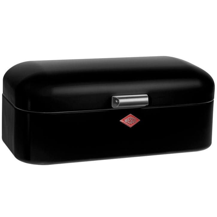 Grandy Bread Bin, Black