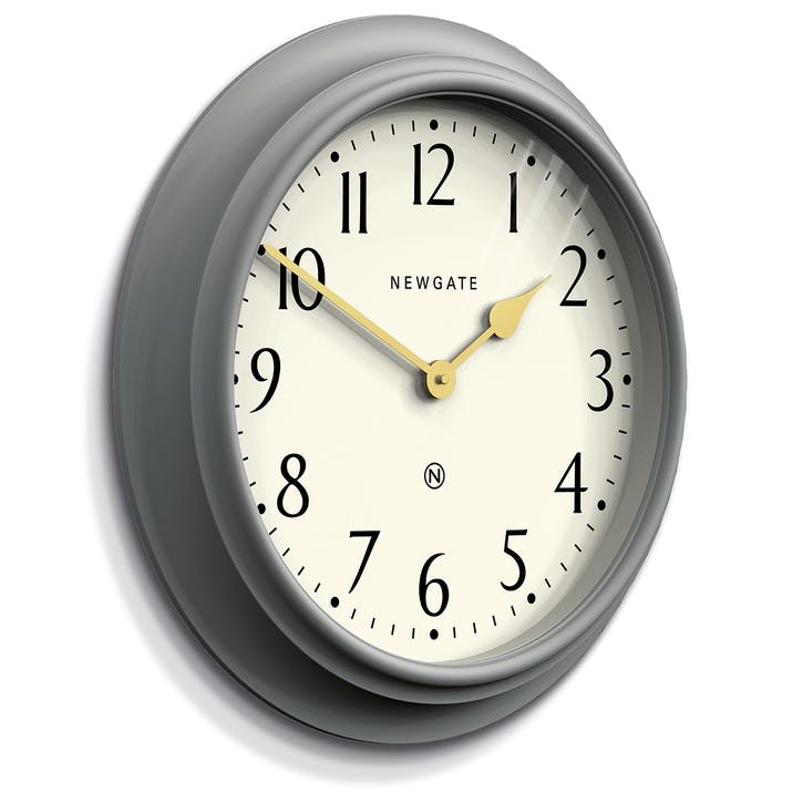 Westhampton Clock, 50cm; Posh Grey