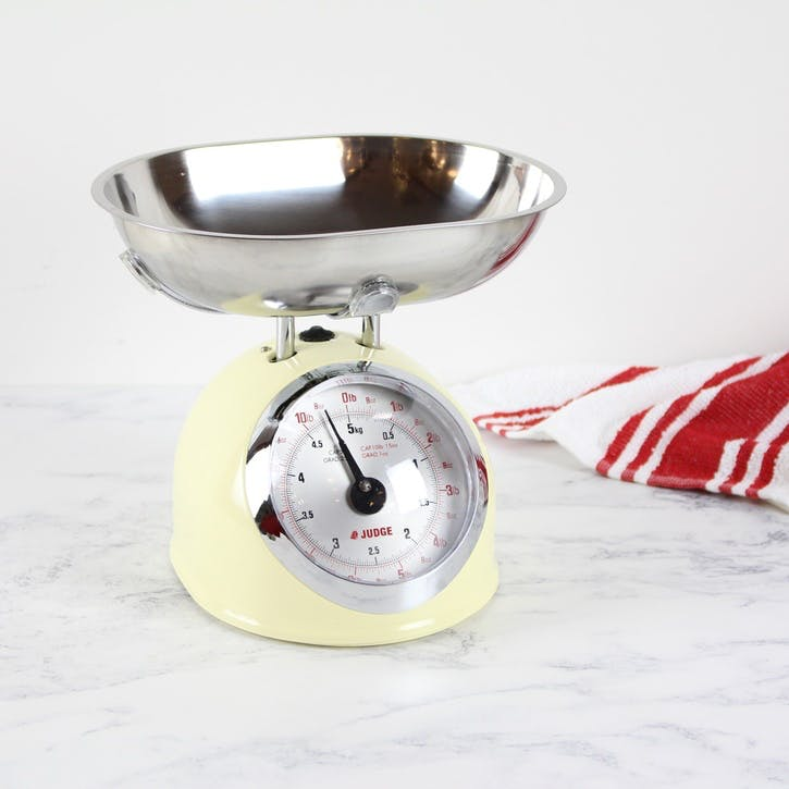 Traditional Kitchen Scale, Cream