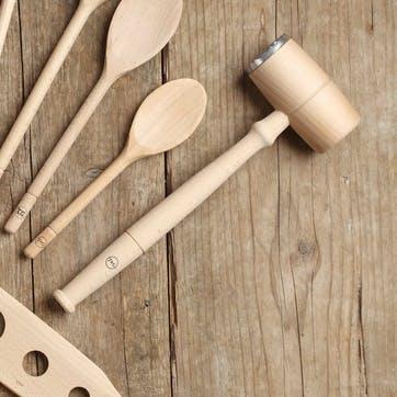 Wood & Metal Meat Hammer