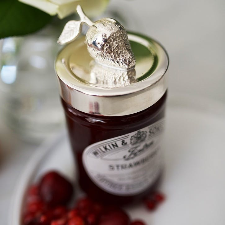Strawberry Jam Jar Lid