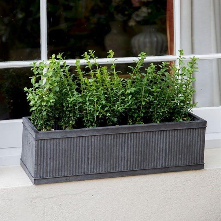 Vence Window Box, Small, Steel