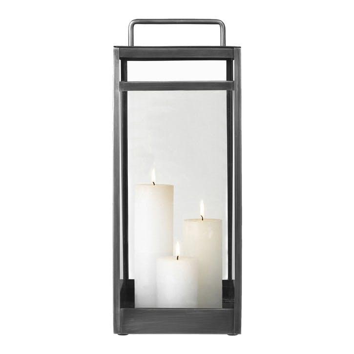 Pure Nordic Lantern, Large, Grey