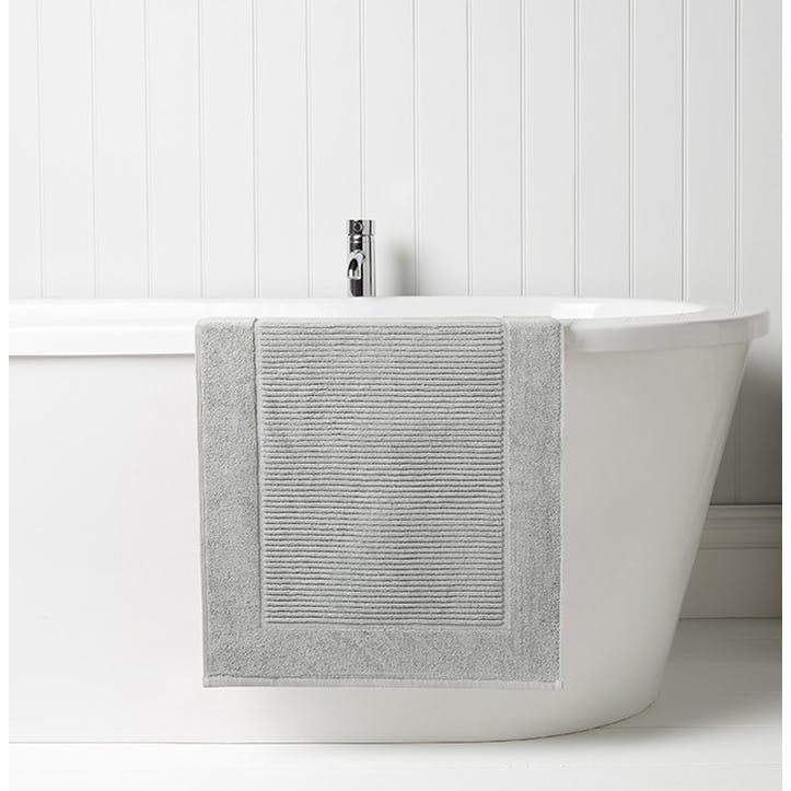 Supreme Hygro Silver Bath Mat