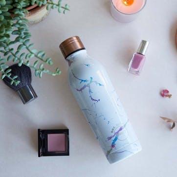 White Marble Bottle
