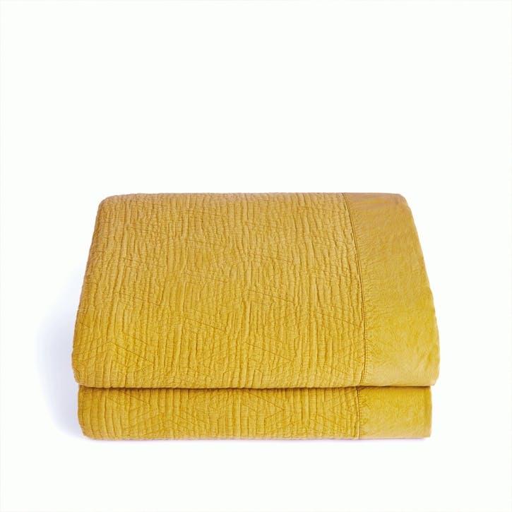 Rambla Bedspread, Mustard