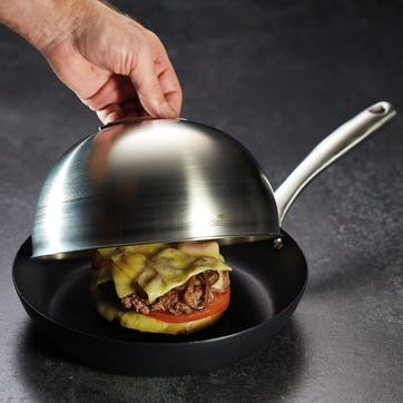 Cheese Melting Dome / Burger Steamer Lid
