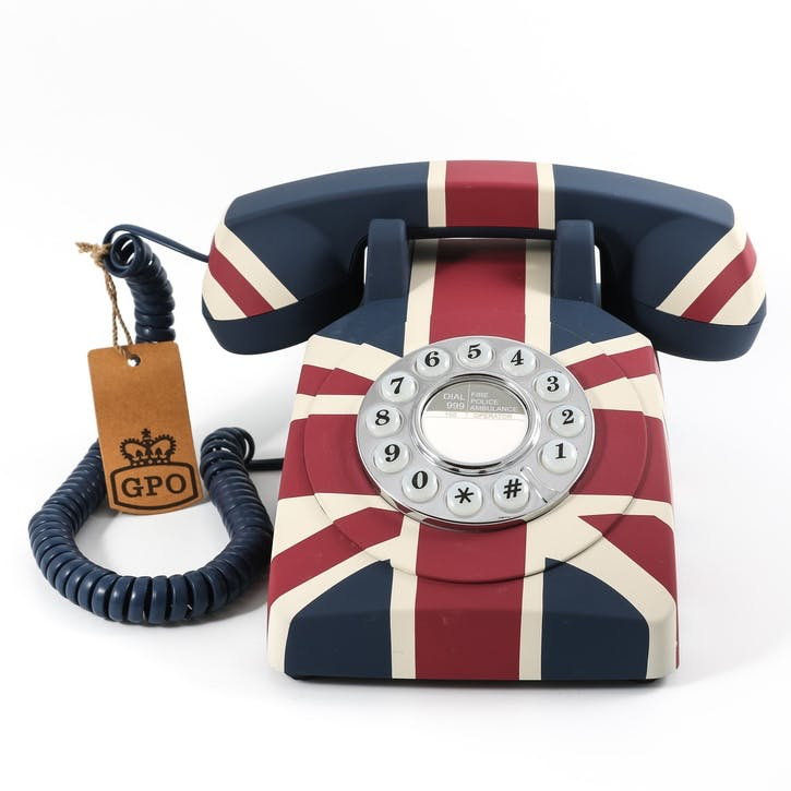 Union Jack Flag Telephone