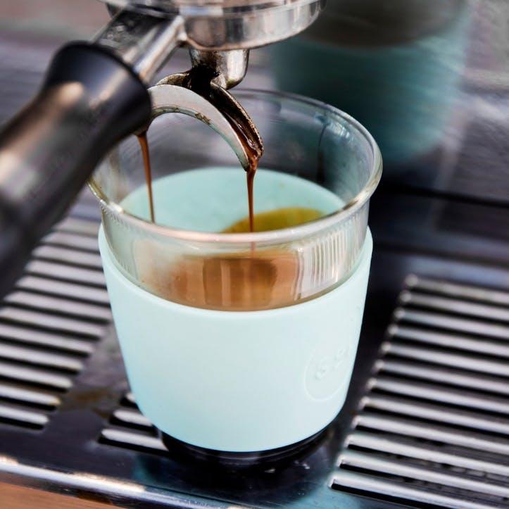 8oz Coffee Cup; Cool Cyan