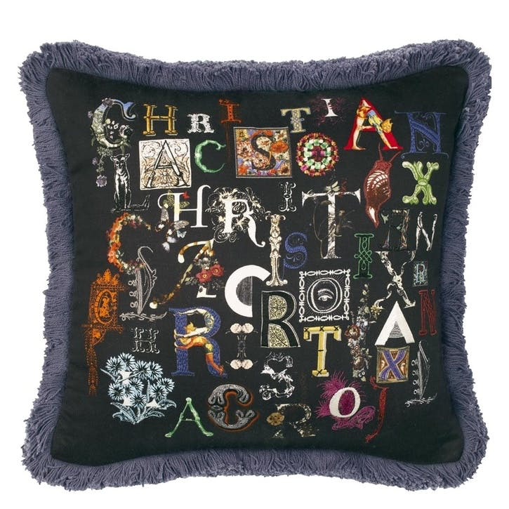 Christian Lacroix,  Do you speak Lacroix Cushion, H40 x W40cm