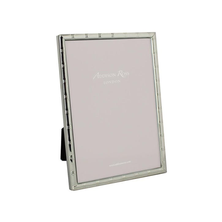 "Cane Silver Plated Photo Frame, 4"" x 6"""