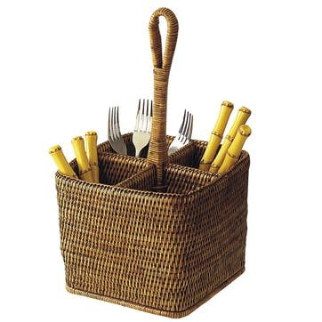 Rattan Deep Carry for Cutlery