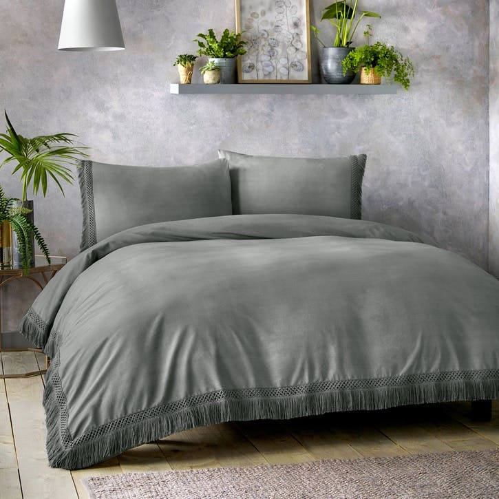 Tempest Bedding Set, King, Slate
