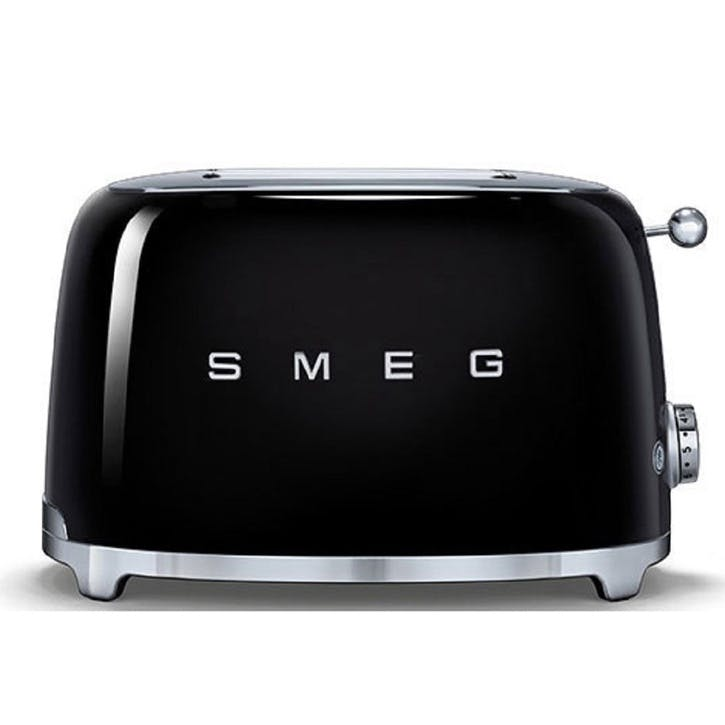 2 Slice Toaster, Black