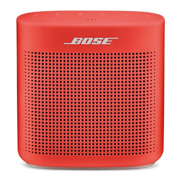 Soundlink Color II Portable Bluetooth Wireless Speaker; Red