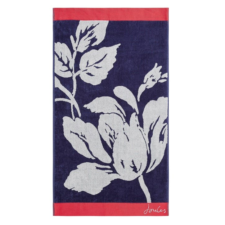 Dawn Shadow Floral Bath Towel