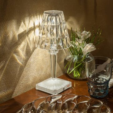 Battery, Table Lamp, Crystal